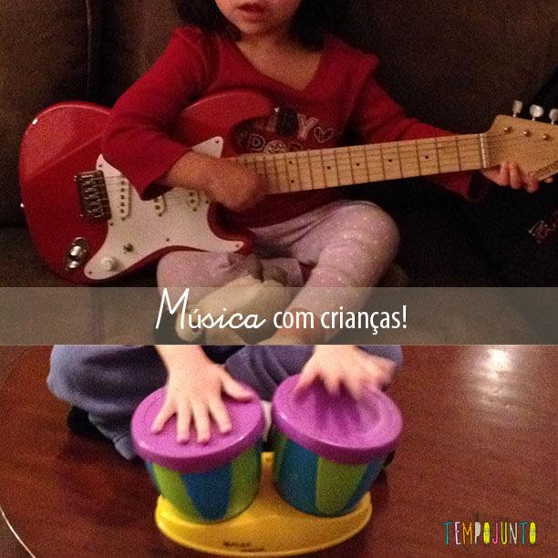 A música é importante para o desenvolvimento das crianças
