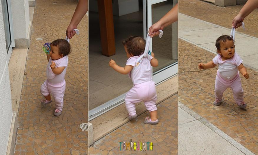 Dicas para incentivar o bebê a andar - Gabi andando