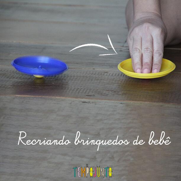 Como usar os brinquedos do bebê de um jeito diferente