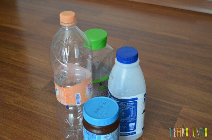 Gincana - garrafas