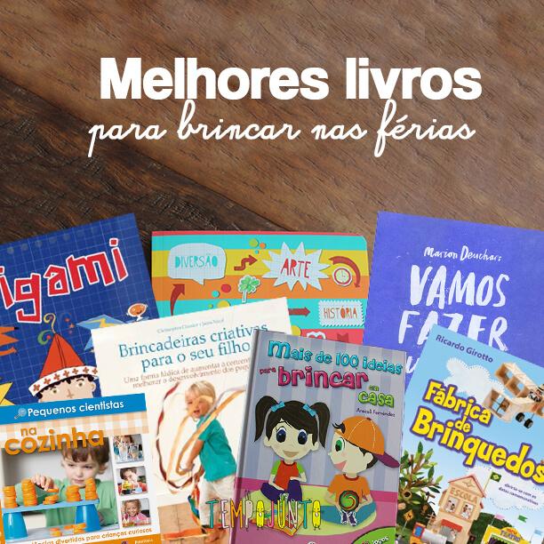 livros de atividades para animar as férias
