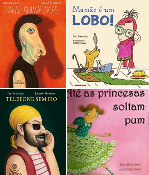 Livros do Ilan Brenman