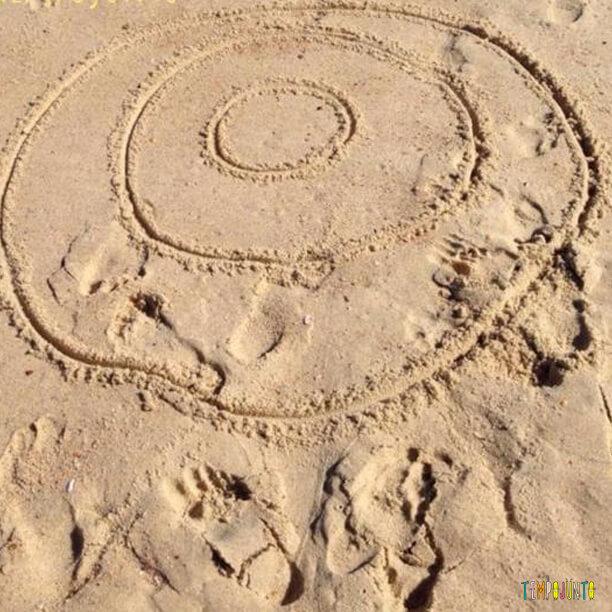 Acerte o alvo na praia