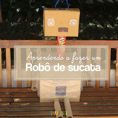 Como fazer um robô de sucata