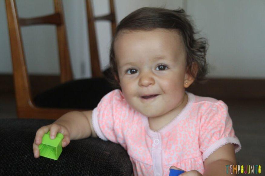Incentive seu bebê a andar - Gabi satisfeita
