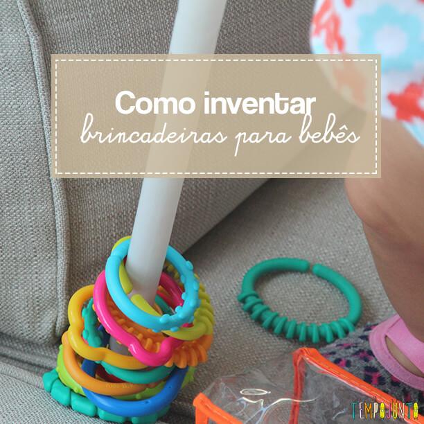 Como inventar brincadeiras para os bebês