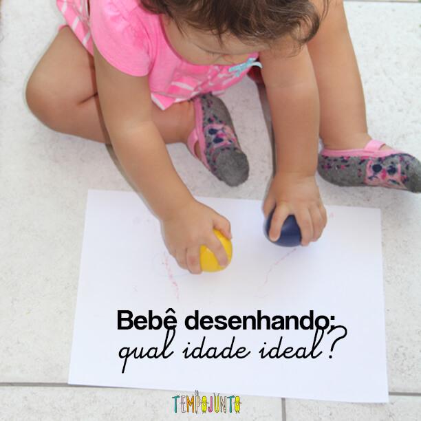Quando o bebê pode começar a desenhar?