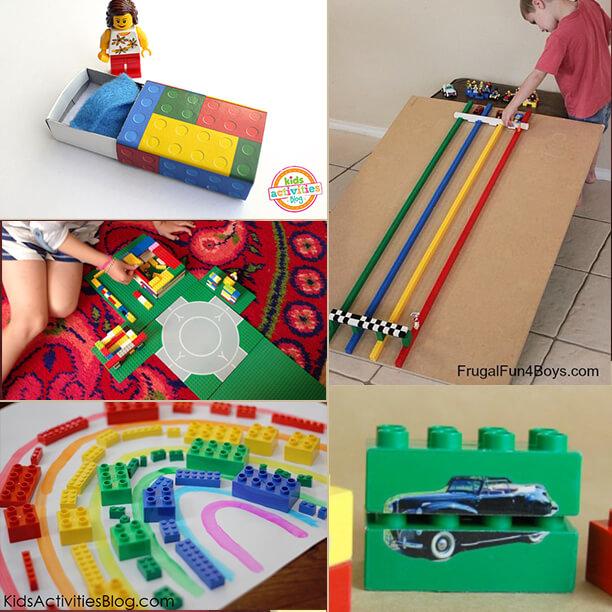 Mais 10 maneiras diferentes de brincar de Lego - ideias antigas