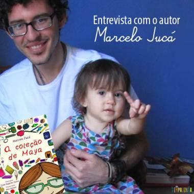 Livro brincante – Maya, a menina que amava coleções de Marcelo Jucá