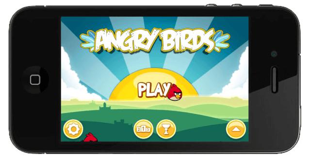 Os apps queridinhos das crianças - angry birds