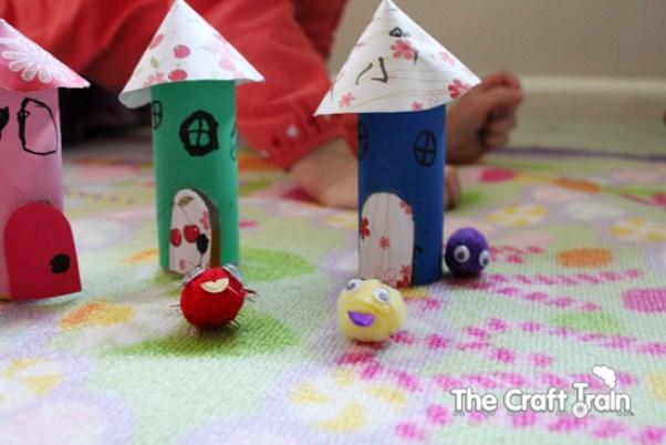 10 ideias criativas para fazer brinquedos com rolo de papel higiênico - pets de pompom