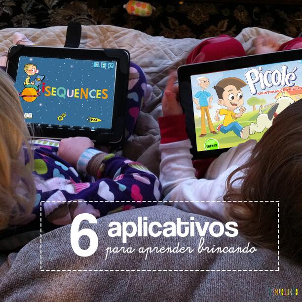 Apps para estimular o desenvolvimento escolar das crianças
