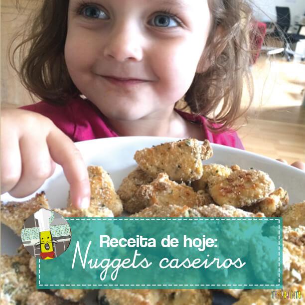 Como fazer Nuggets em casa e se divertir cozinhando
