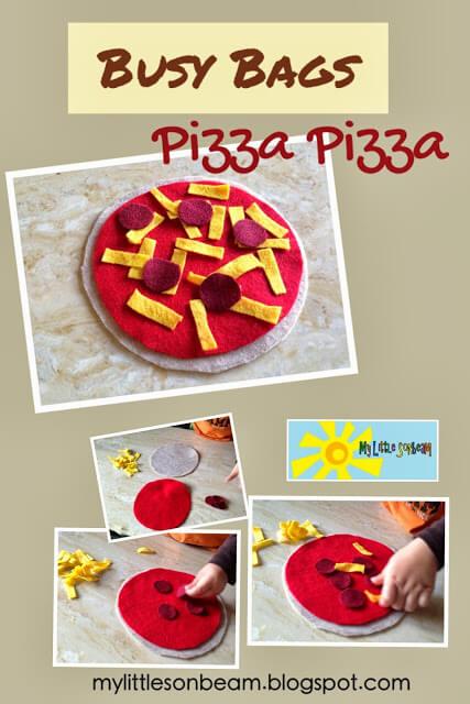 10 brincadeiras para você aproveitar o Dia da Pizza - busy bags