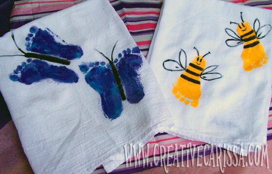 10 ideias de presentes caseiros para o Dia dos Avós - toalhas