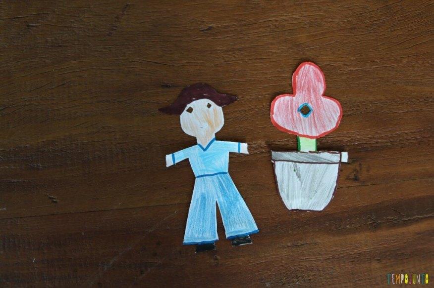 Brincadeiras da vovó - figuras de papel recortado - figuras prontas