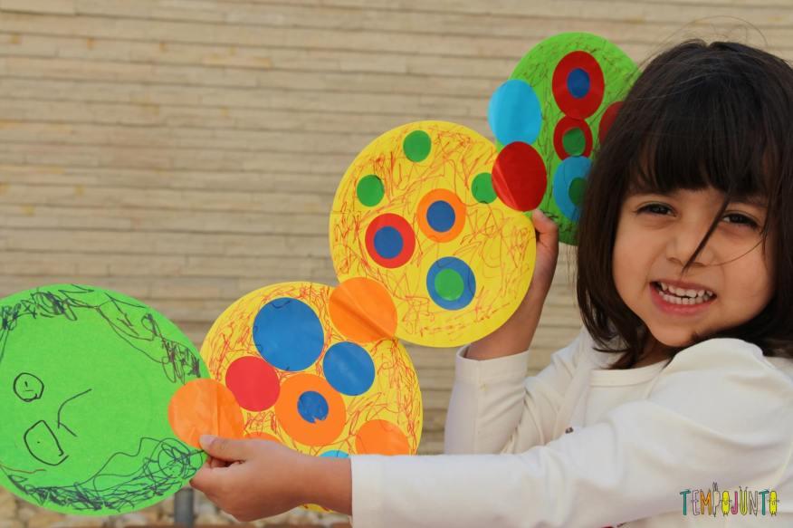 10 ideas criativas para fazer bichinhos com as crianças - centopeia