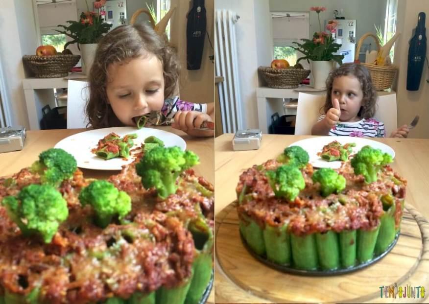 Brincando na cozinha - como criar uma Floresta Encantada dos Nutrientes com as crianças - experimentando e aprovando
