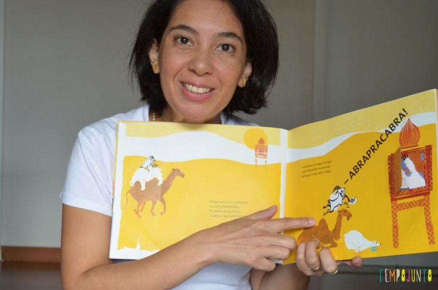 Brincar de leitura estimula o gosto pelos livros - interpretação da leitura