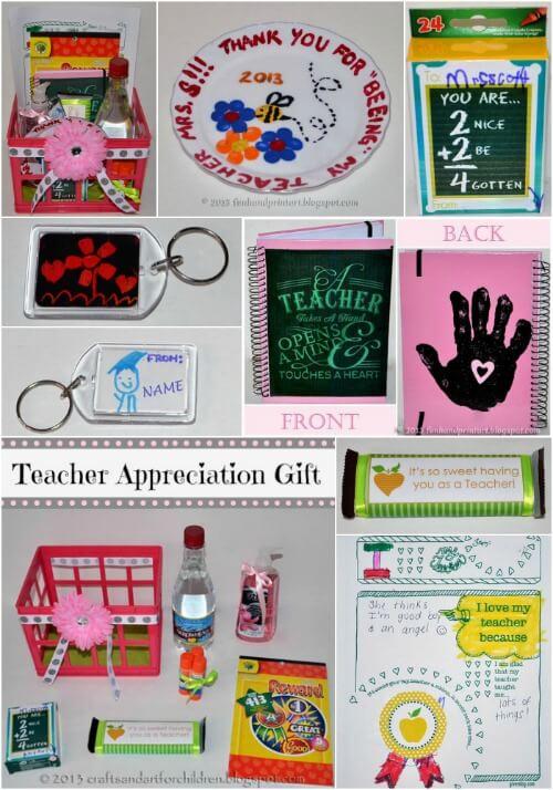 15 ideias de presentes para o Dia do Professor - caixa de materiais