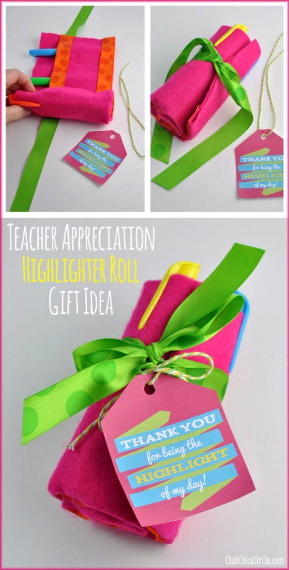 15 ideias de presentes para o Dia do Professor - estojo de marcadores