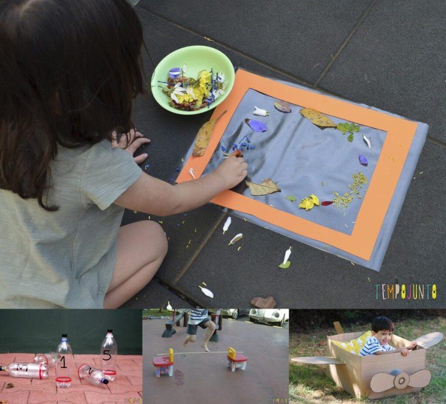 10 ideias de brincadeiras para pais e filhos para o Dia das Crianças - para fazer do lado de fora