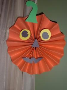Faça você mesmo ideias criativas para o Halloween - abobora de safona
