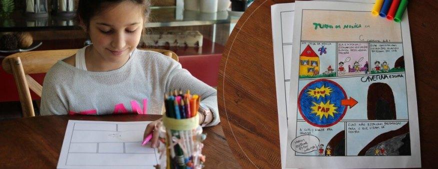 Como criar uma história em quadrinhos com as crianças - HP_header_1