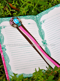 10 ideias de presentes para fazer com os filhos - marcador de livro de botao