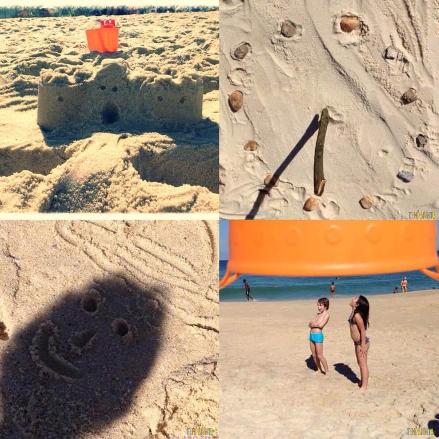 7 dicas de brincadeiras para as férias de verão - montagem praia