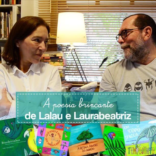 A brincadeira na forma de poesia de Lalau e Laurabeatriz capa