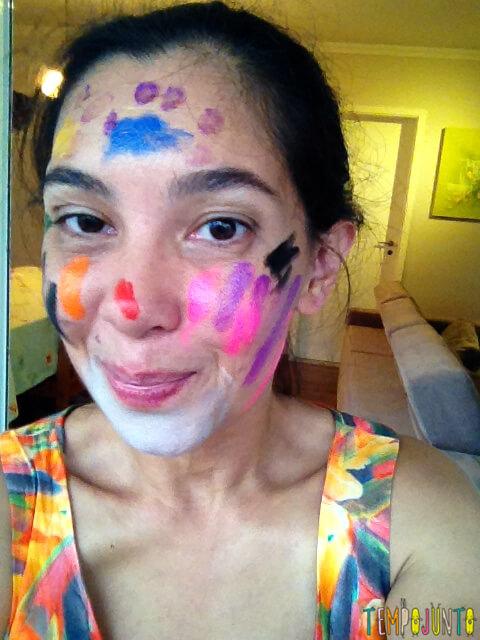 Brincadeiras perfeitas para crianças agitadas e cheias de energia - pat rosto pintado