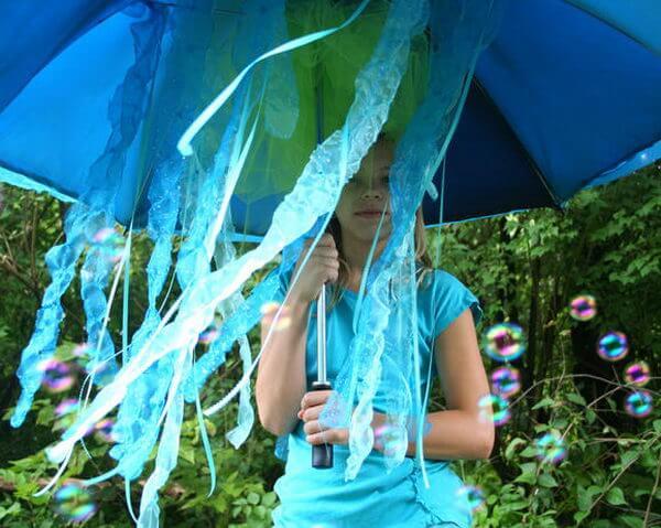 10 fantasias de última hora para as crianças - agua viva