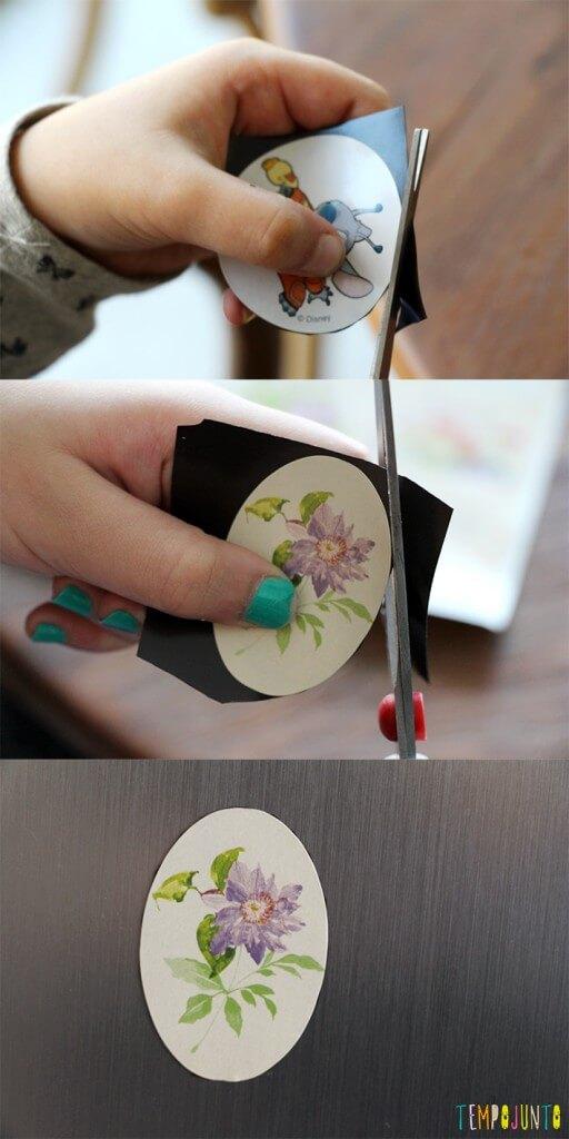 5 ideias de artesanatos para crianças mais velhas - ima de geladeira como fazer