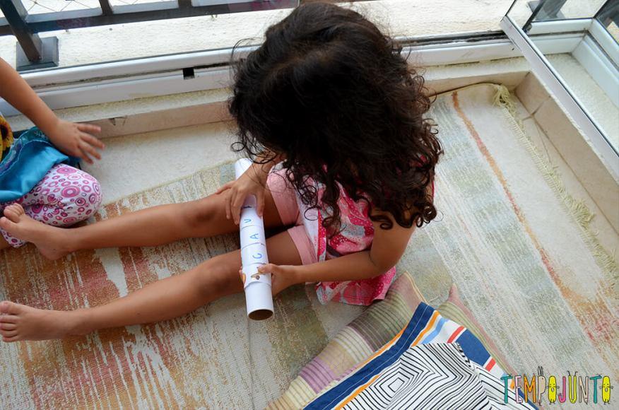 Brinquedo que ajuda a formar e ler as primeiras palavras - sofia brincando