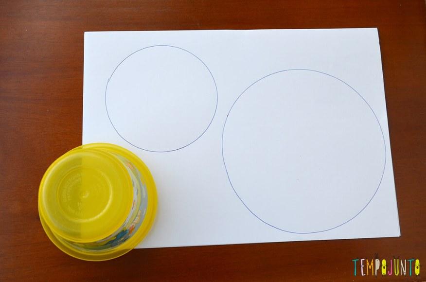 Um brinquedo caseiro fácil, divertido e que desafia a gravidade - circulos