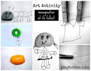 Vamos estimular a criatividade das crianças - post artactivity