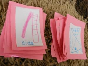 10 maneiras de brincar de contar histórias - cartões