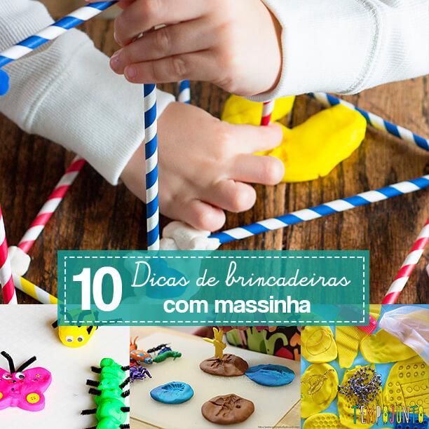 10 brincadeiras com massinha - capa