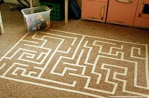 10 ideias de atividades para fazer nas férias das crianças - labirinto