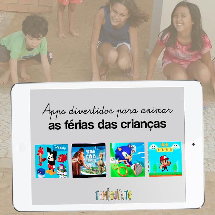 4 apps para animar as ferias das criancas - capa