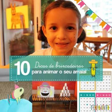 10 brincadeiras de festa junina para animar o arraiá em casa