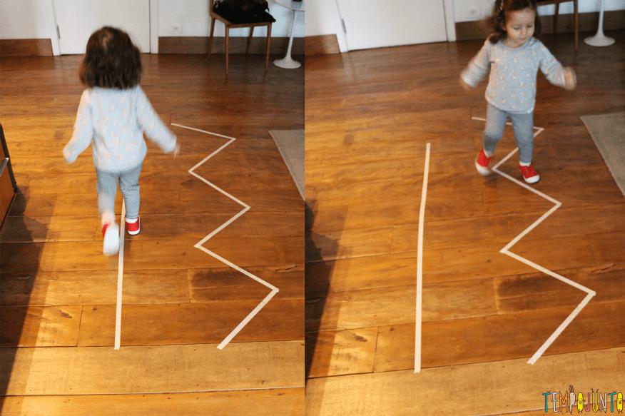 brincadeiras para crianças de 2 anos Jogo de movimento