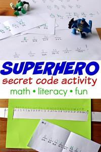 10 maneiras de brincar de super-herói - codigo secreto