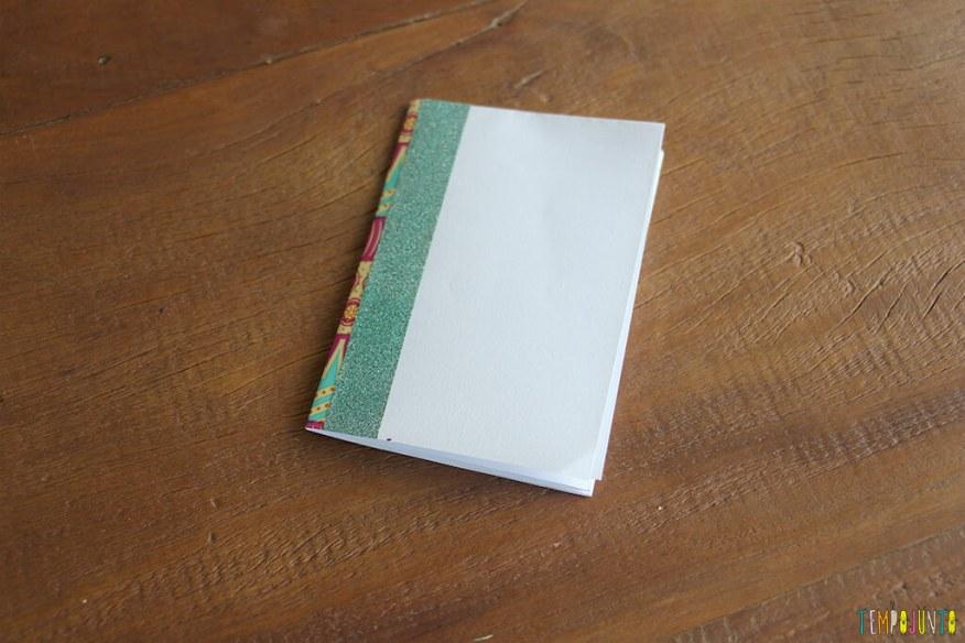 Caderninho de papel - caderno pronto