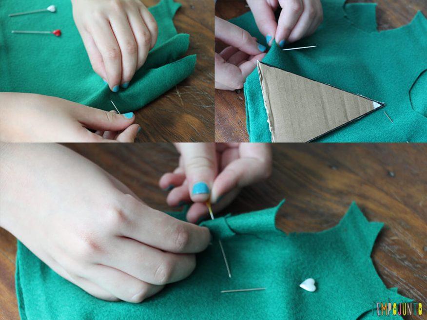Como fazer um enfeite caseiro para a árvore de natal_3689_3694_3696_fixando feltros