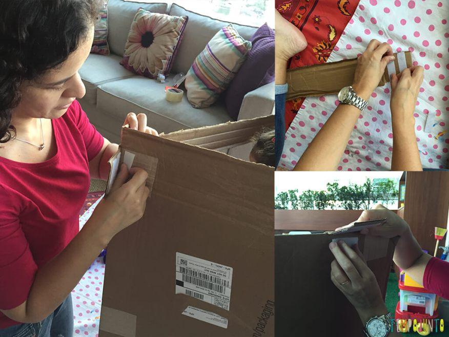 Como fazer uma cabana de caixa de papelao_15.52.40_15.54.15_16.03.36_colocando velcro na caixa