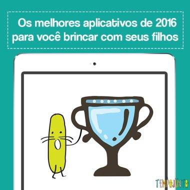 Os melhores aplicativos de 2016 para você brincar com seus filhos
