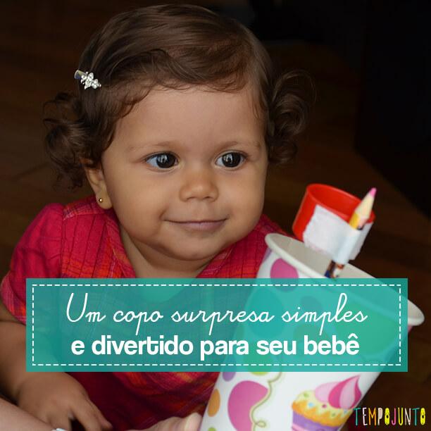 Brinquedo para despertar a curiosidade do seu bebê