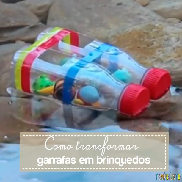 Um barquinho simples e fácil para divertir as crianças